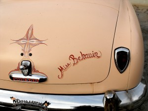 41 Hudson Hornet trunk