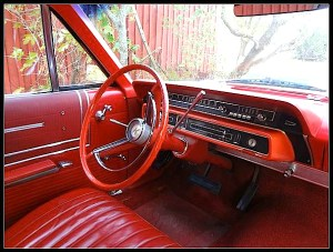 65 Country Squire dash