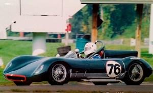 Tojeiro Climax racing