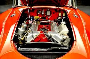 59 MGA Twin Cam eng
