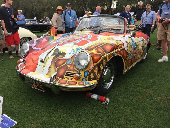 Janis Joplin's Porsche 356 Cabriolet