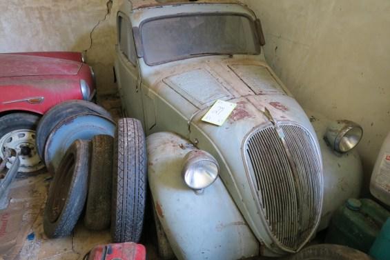 Fiat Topolino - Ran when parked!