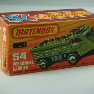 Matchbox Superfast No.54C Personnel Carrier