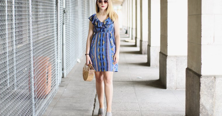 Thrifted Yumi Kim Printed Dress