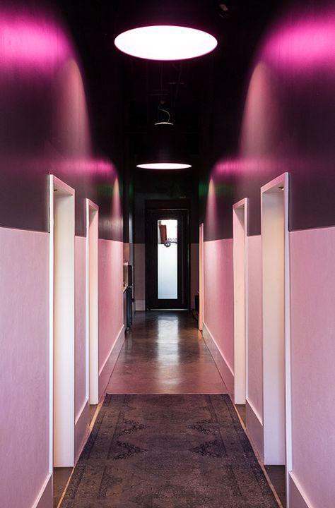 Entrada de Hotel em duas cores
