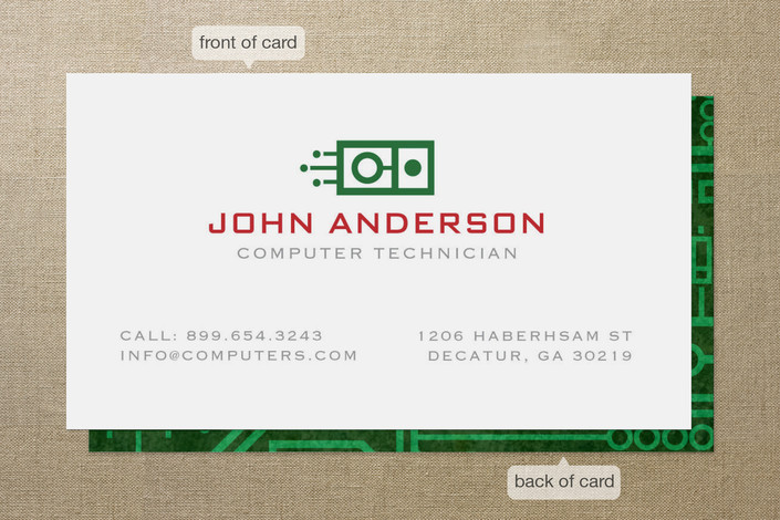 296 Circuit Board Business Cards And Circuit Board Business Card