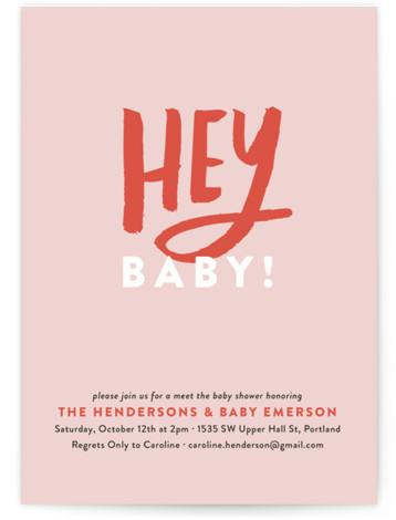 There are seven types of baby showers. Baby Shower Invitation Wording Etiquette Minted