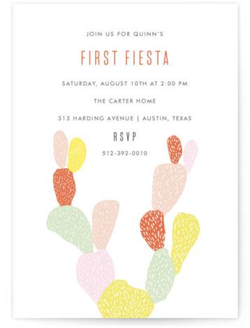 western birthday party invitations