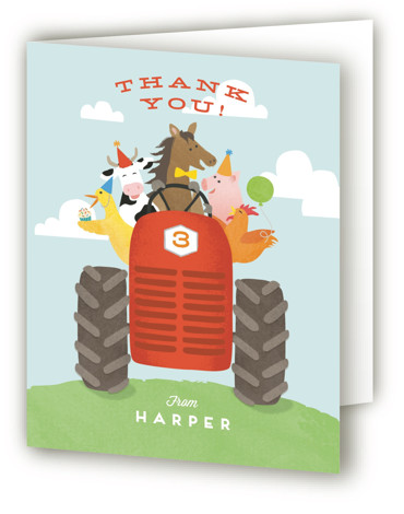 farm birthday party invitations and