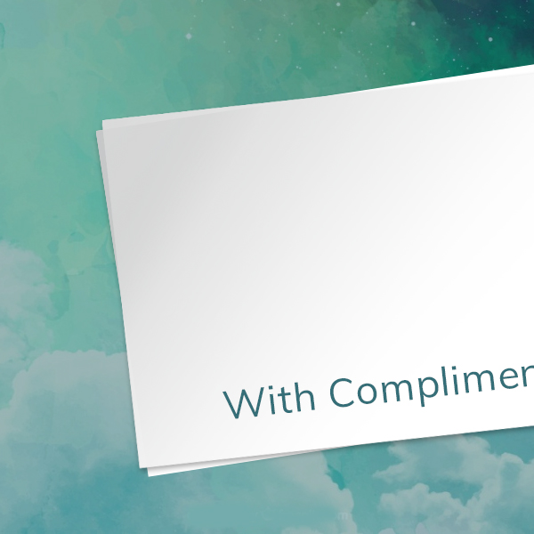 Compliment slip printing ipswich