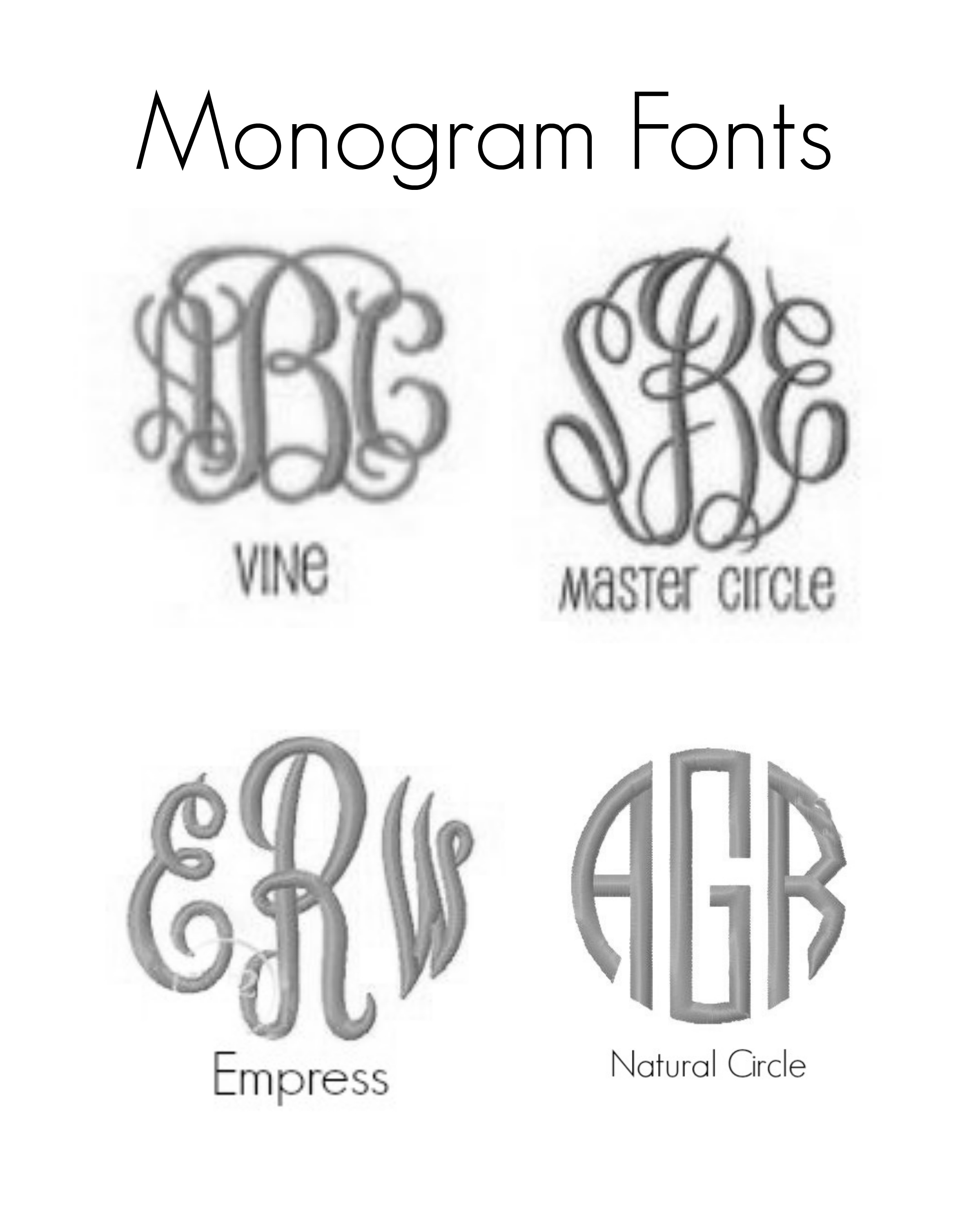 Monogrammed Snack Square Perfect On The Go For Babies And