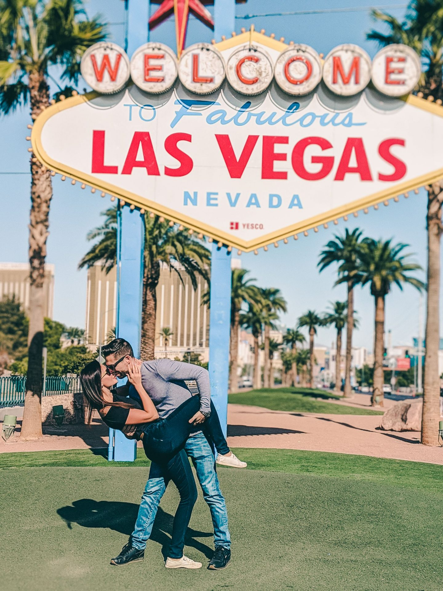 Welcome to Las Vegas Sign is the most instagramable spot in Vegas - by @danandnatty