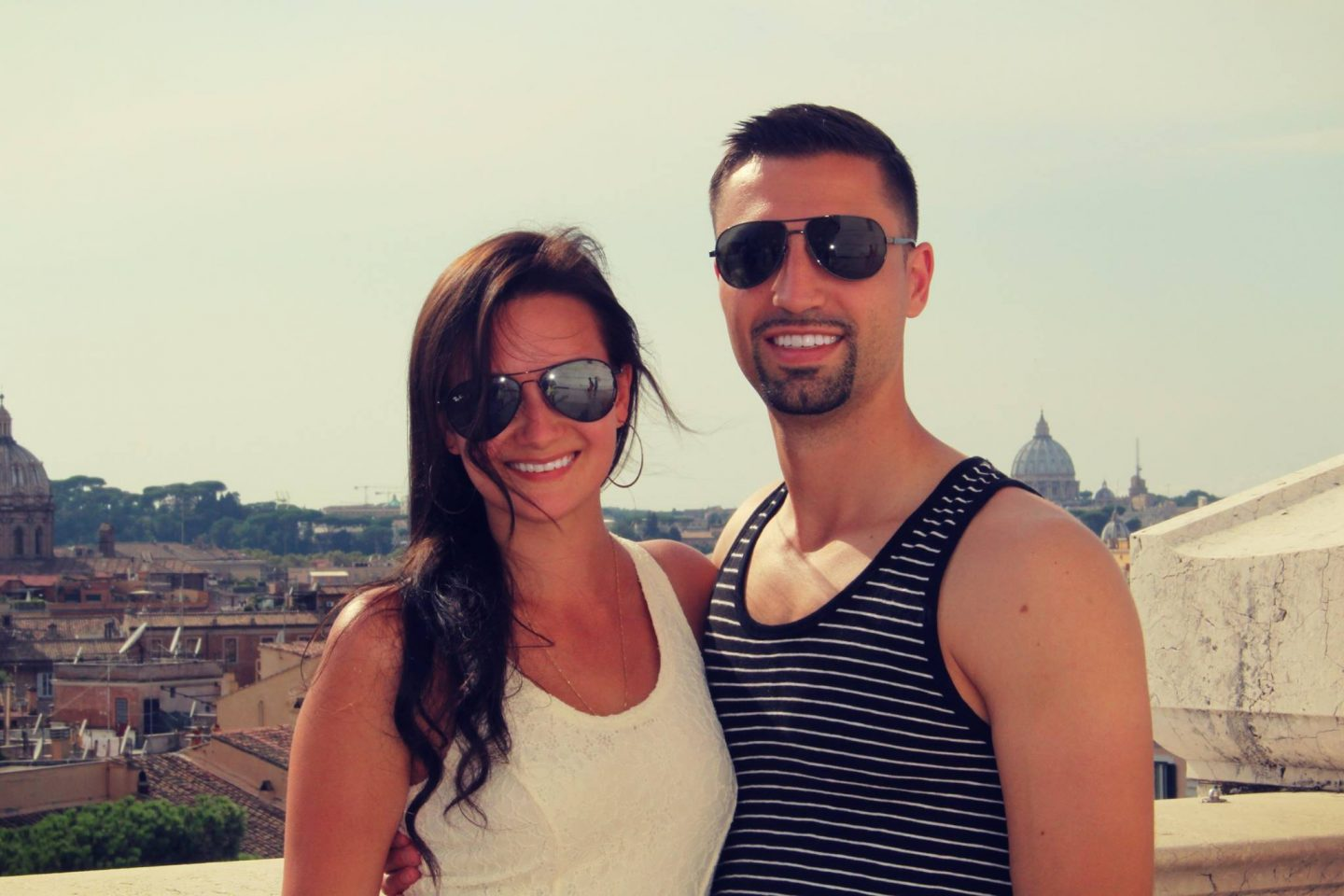 Rooftops with best view of Rome Italy - by @danandnatty