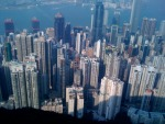 A sea of skyscrapers in Hong Kong