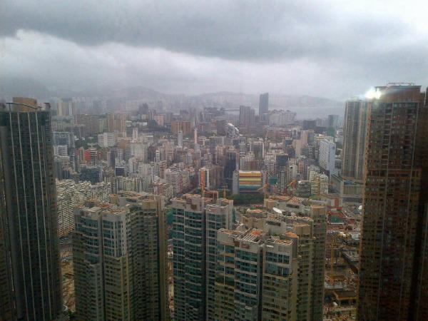 Hong Kong threatened by Typhoon Utor