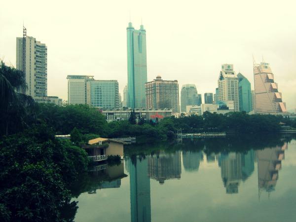 Shenzhen City  Mint Mocha Musings
