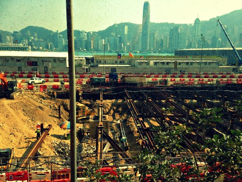 Kowloon Construction   Mint Mocha Musings