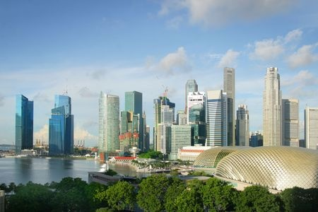View of Singapore City | Mint Mocha Musings
