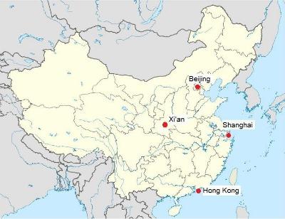 Xian-City Map Mint Mocha Musings