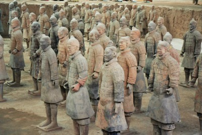Xian Terracota Warriors Mint Mocha Musings