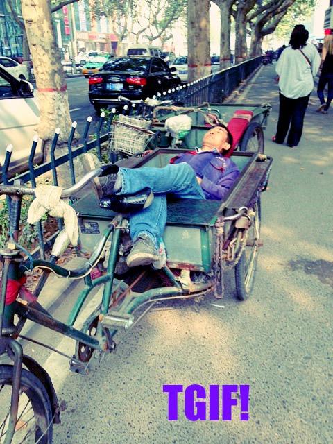 China: I hear you Sir! #SnoozeTime #ChinaTime #XianScenes
