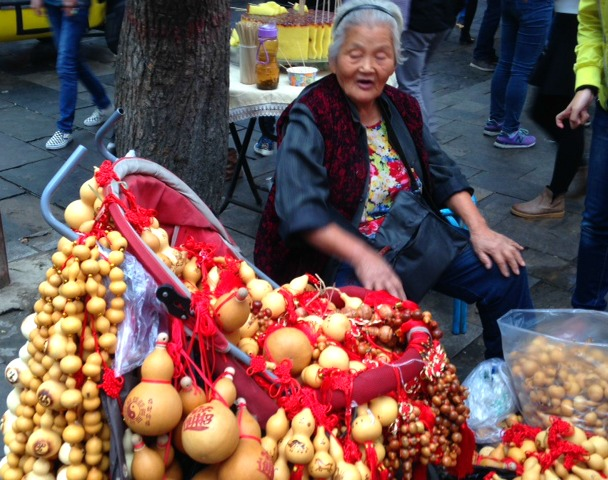 Snap of the Day 34: China - Colourful Street Vendor, Muslim Quarters