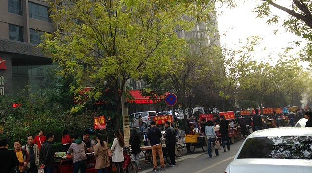 Xian Streets | Mint Mocha Musings