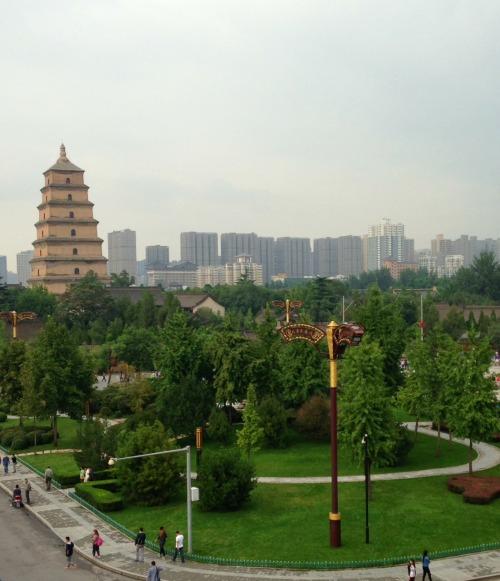 Wild Goose Pagoda Xi'an | Mint Mocha Musings
