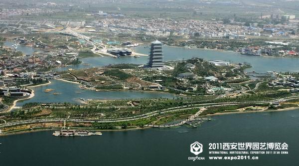 Xian Aerial Shot