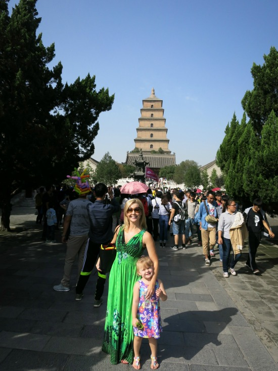 Big Wild Goose Pagoda   Mint Mocha Musings