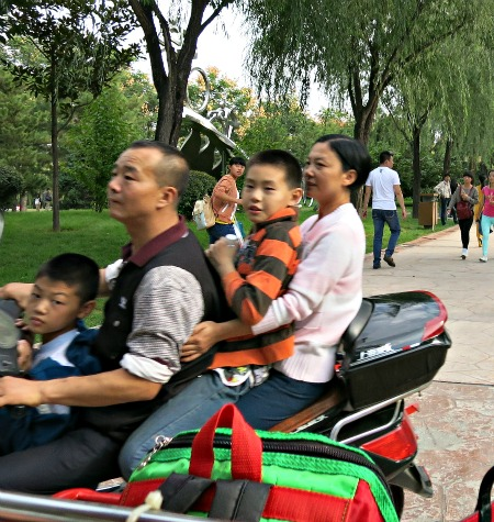 Scooters in China | Mint Mocha Musings