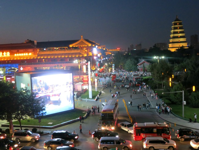 Xi'an New QuJIang District