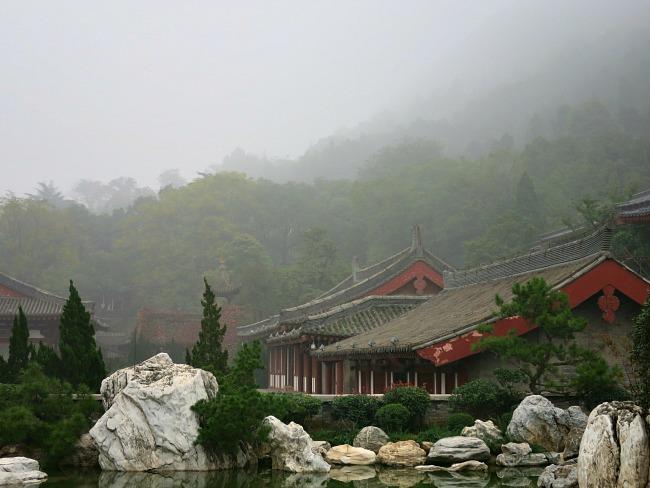 HuaQing Palace  mint mocha Musings