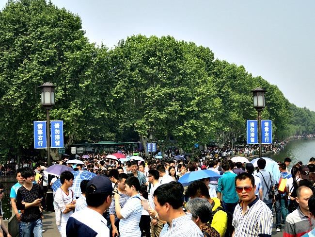 Walking Westlake Hangzhou China | Mint Mocha Musings