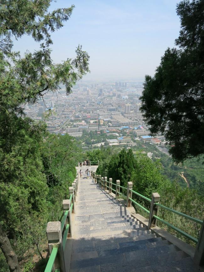 Climbing Li Shan Xi'an China | Mint Mocha Musings