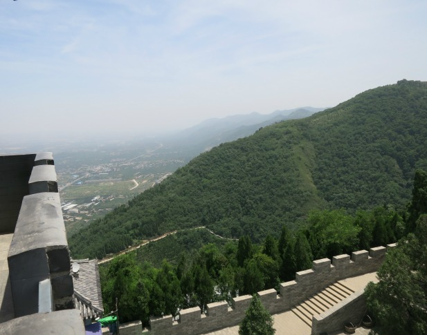View from Mt Lishan