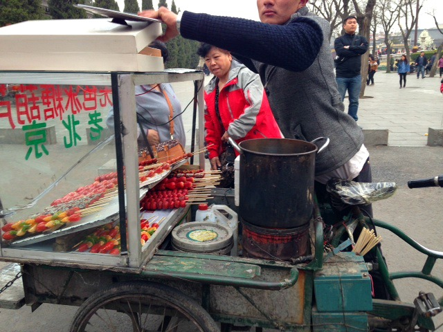 Xi'an Street food carts