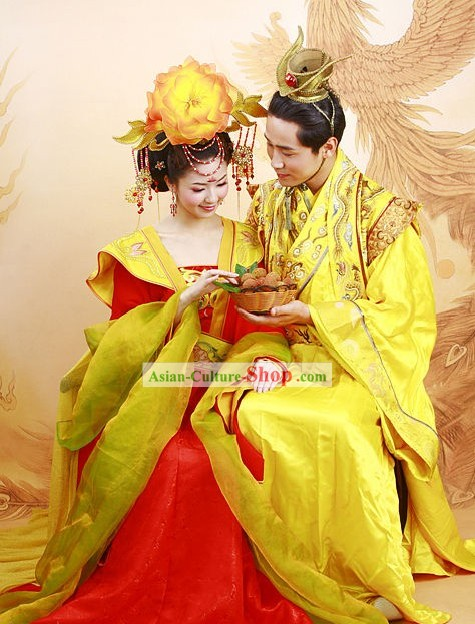 Yellow Silk Robes Han Dynasty