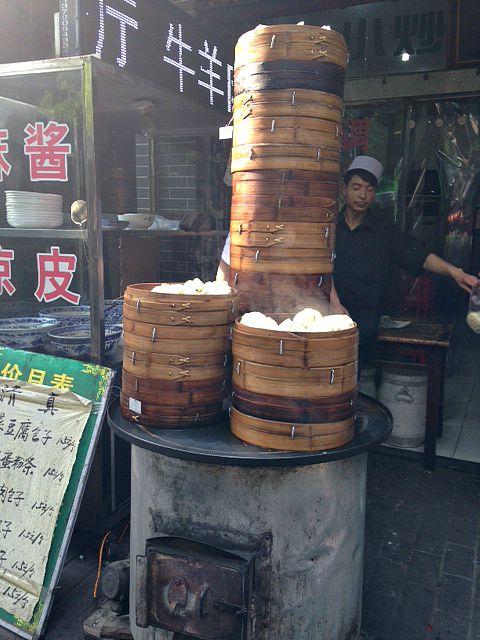 Food Stall Muslim Quarter Xian