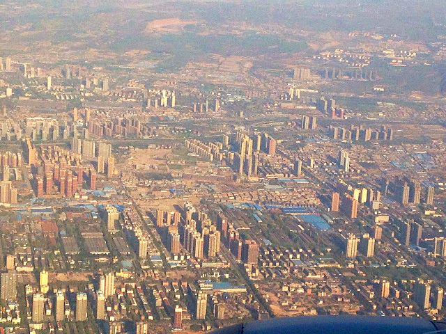 Landing in Xi'an