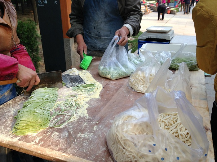 Pasta Wet Markets China