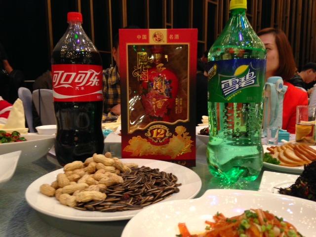 Wedding in China, Baijiu