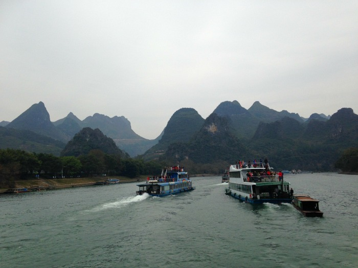 Guilin Boat cruise