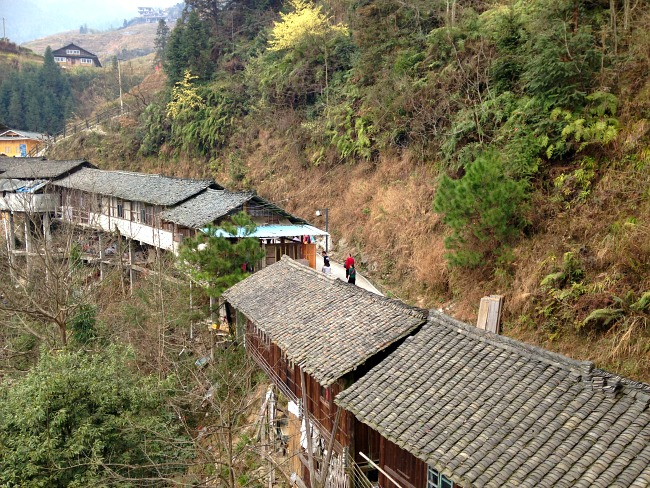 Guilin Ping'an village houses