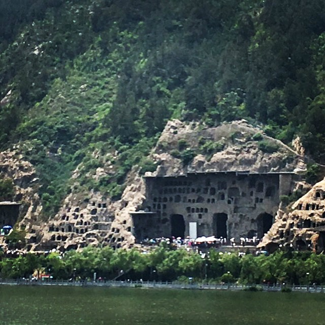 Caves at Longmen Grottoes