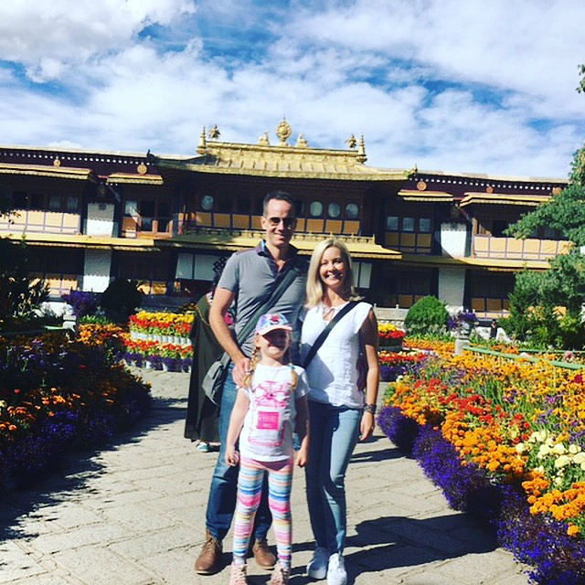 Visiting the Dalai Lama Summer Palace in Tibet