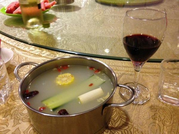 Hot Pot Restaurant in Xian