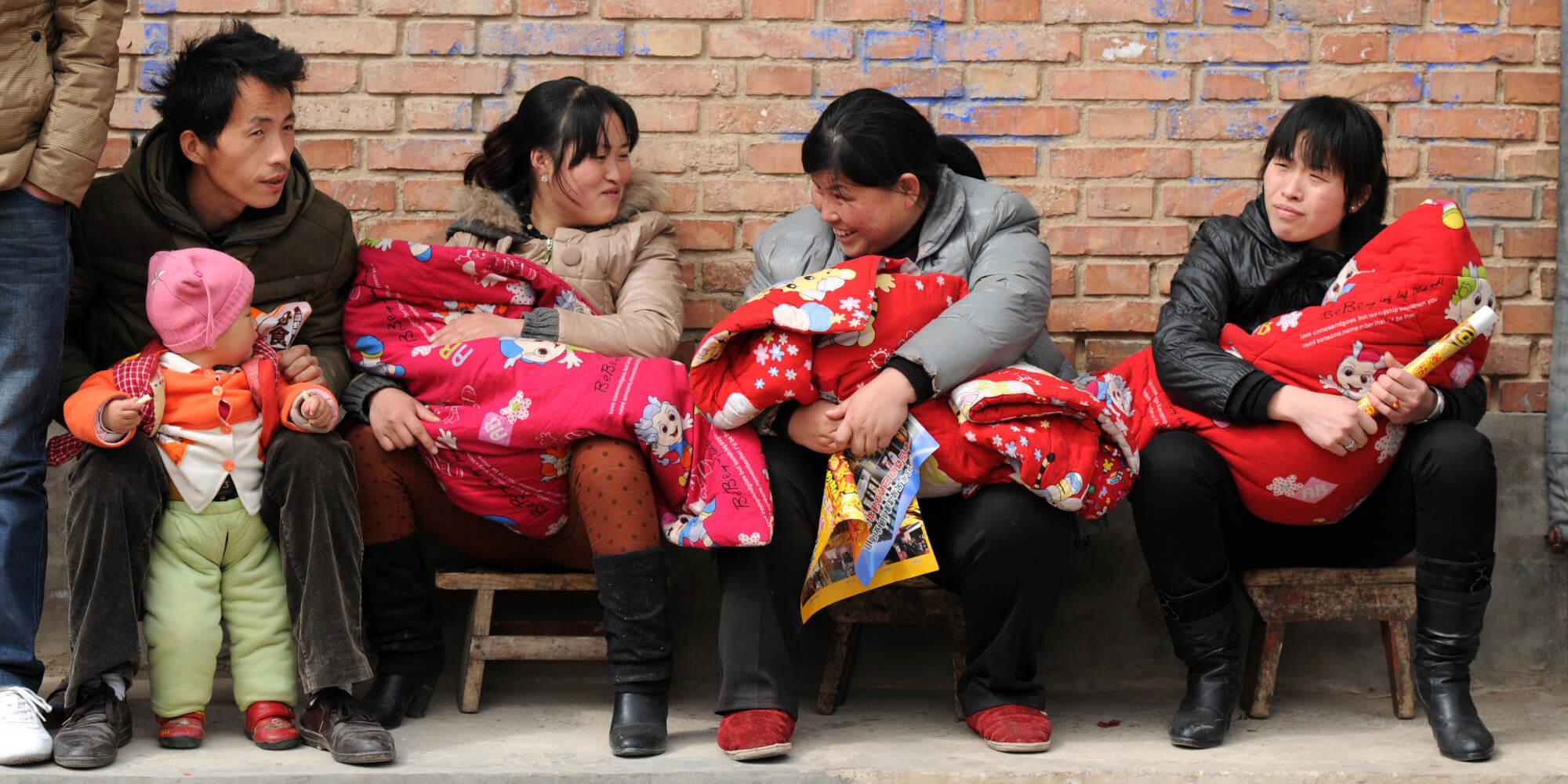 China Children family