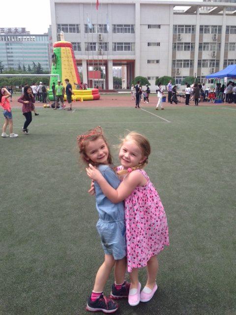 expat kids farewells