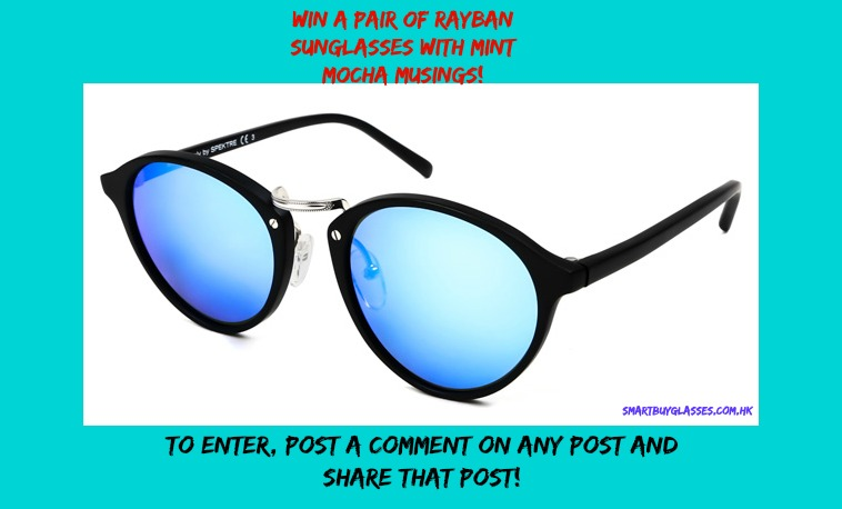 Mint Mocha Musings Sunglasses Giveaway